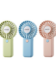 cheap -RL-FN30 1200mAh Mini Fan USB Powered Handheld Double Motor Double Blades Fan 3 Speed Silent Strong Wind Power Low Noise Personal Air Cooler Portable Fan High Wind