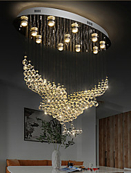 cheap -80cm Atmosphere Eagle Crystal Chandelier Villa Hall Crystal Chandeliers Hotel Modern Ceiling Light Personality Living Room Crystal Pendant Light