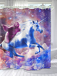 cheap -Shower Curtains & Hooks Modern Polyester New Design 72 Inch
