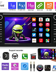 cheap -K808 8 inch 2 DIN Android 5.0 Car GPS Navigator Touch Screen / Radio / FM Transmitter for universal Other Support MP4 JPEG