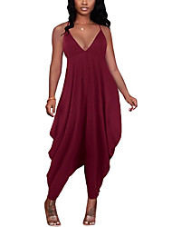 cheap -factory source european and american cross-border jumpsuit amazon aliexpress ebay loose sling casual home girl