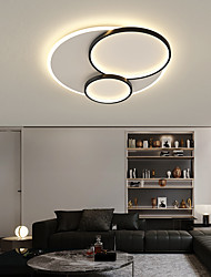 cheap -40/50/60/80 cm LED Ceiling Light Includes Dimmable Version Circle Design Flush Mount Lights Metal LED Nordic Style 220-240V