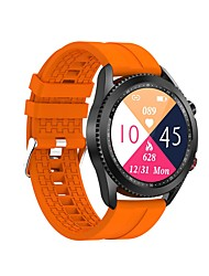 cheap -T40 Smartwatch for Android iOS Samsung Apple Xiaomi Bluetooth 1.3 inch Screen Size IP 67 Waterproof Level Waterproof Heart Rate Monitor Blood Pressure Measurement Sports Calories Burned Stopwatch
