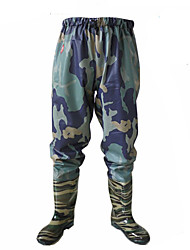 cheap -Men's Hunting Pants Waterproof Ventilation Wearproof Fall Spring Summer Camo / Camouflage for Navy camouflage (no spot custom models) Knit Army Green Waist Sweatpants 38 (customized models) 39