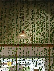 cheap -12Pcs Artificial Vine Foliage 220cm Artifical Leaves Vine Wall Decor Wedding Party Decorative Vine