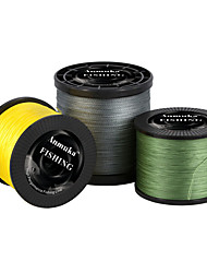 cheap -PE Braided Line / Dyneema / Superline 4 Strands Fishing Line 2000M / 2200 Yards PE 80LB 70LB 60LB Abrasion Resistant
