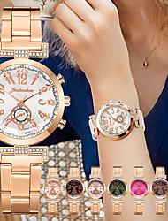 cheap -Women's Steel Band Watches Analog - Digital Quartz Stylish Fashion Creative