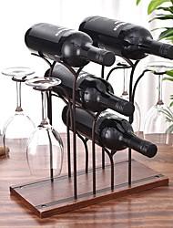 cheap -Wine Glass Holder Upside Down Goblet Holder Wine Rack Ornaments for Home Wine Cabinet Decorations Wine Bottle Storage Rack