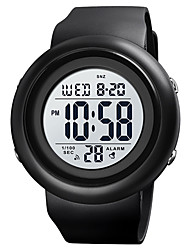 cheap -SKMEI Men's Sport Watch Digital Digital Sporty Outdoor Calendar / date / day Chronograph Alarm Clock / One Year / Silicone