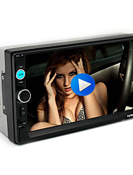 cheap -7-inch large screen high-definition car bluetooth MP5 player car MP3 MP4U disk host reversing image 7010B