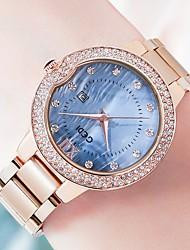 cheap -Women's Steel Band Watches Analog Quartz Stylish Minimalist Water Resistant / Waterproof