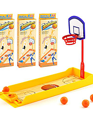 cheap -3 Pack Finger Basketball Shooting Game Toy, Desktop Table Basketball Games Set with Basketball Court, Fun Sports Novelty Toy for Stress Relief Killing Time