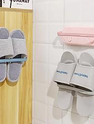 cheap -Tools Self-adhesive / Creative / Multifunction Modern Contemporary Plastic 4pcs Bath Organization