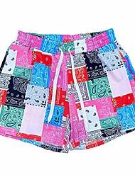 cheap -womens shorts for summer sexy high waisted drawstring hotpants shorts pink m