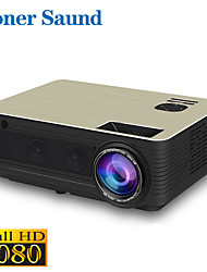 cheap -Poner Saund M5 Mini Projector LED Projector 360 lm Android6.0 WIFI Projector