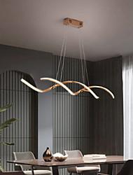 cheap -90 cm LED Pendant Light Dimmable Single Design Chandelier Metal Artistic Style Modern Style Stylish Electroplated Artistic LED110-120V 220-240V