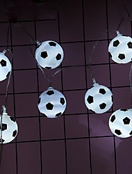 cheap -Football String Lights DIY Soccer accessories Atmosphere for Bar Club Party Decoration Fans Supplies World Cup