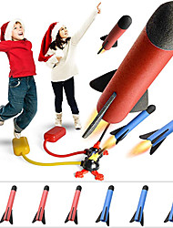 cheap -Toy Rocket Launcher for Kids – 6 Colorful Foam Rockets and 2Sturdy Launcher Stand with Foot Launch Pad - Fun Outdoor Toy for Kids -Family Games- Gift Toys for Boys and Girls Age 3+ Years Old