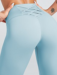 cheap -Activewear Pants Solid Women's Training Running Natural Nylon