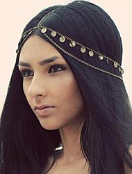 cheap -Shixin® European Tassels Golden Alloy Headbands For Women(1 Pc)