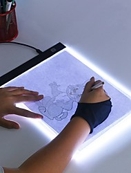 cheap -Ultra Thin A4 A5 LED Light Pad Artist Light Box Table Tracing Drawing Board Pad Diamond Painting Embroidery Tools