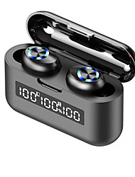 cheap -iMosi X35 True Wireless Headphones TWS Earbuds Bluetooth5.0 Dual Drivers with Microphone with Volume Control for Apple Samsung Huawei Xiaomi MI  Mobile Phone