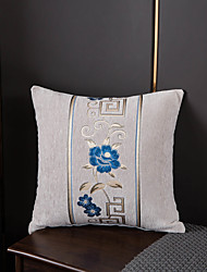 cheap -1 Pc Floral Cushion Cover 45x45cm Linen for Sofa Bedroom