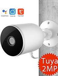 cheap -Tuya Smart life WiFi IP Camera 1080P 110 Home Security Outdoor Camera Night Vision Infrared Two Way Audio