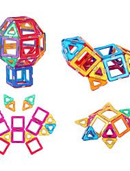 cheap -Magnetic Blocks Magnetic Tiles Building Blocks Building Bricks 64 pcs Fashion Car Transformable Building Toys Boys' Girls' Toy Gift / Kid's