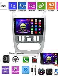 abordables -Lecteur dvd mp5 de voiture applicable aux modèles 09-13 pour renault logan navigation android android gps machine tout-en-un