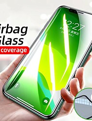 cheap -Airbag Edge Tempered Glass Film For New IPhone 12 Pro IPhone 12 2020 IPhone 11 Pro Xr X Xs Max 7 6 8 Plus Screen Protector Film