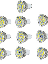 cheap -6pcs 7W 600-700lm GU10 LED Spotlight 48 LED Beads SMD 2835 Warm White Cold White Natural White