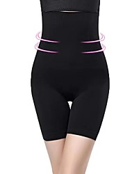 cheap -Corset Women's Control Panties Seamless Simple Style Breathable Comfortable Tummy Control Basic Yoga Solid Color Seamed Nylon Polyester Christmas Halloween Wedding Party Birthday Party Spring / Sport