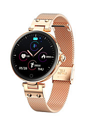 cheap -SMA R6 Smartwatch Fitness Running Watch Bluetooth Pedometer Sleep Tracker Heart Rate Monitor Long Standby Message Reminder Call Reminder IP68 42mm Watch Case for Android iOS Men Women / Light Sensor
