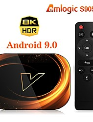 cheap -Android 9.0 TV Box Factory OEM X3 4K 4K Support H.265 Amlogic S905X3 4GB 128GB 64GB 32GB / Quad Core