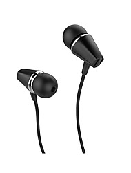 cheap -HOCO M34 Wired In-ear Earphone USB 3.5mm Audio Jack Ergonomic Design Stereo with Microphone for Apple Samsung Huawei Xiaomi MI  Mobile Phone