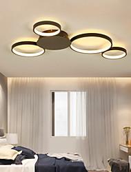 cheap -80 cm LED Ceiling Light Circle Dimmable Geometric Shapes Flush Mount Lights Metal Artistic Style Stylish Painted Finishes Artistic LED 110-120V 220-240V