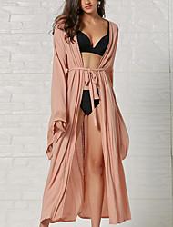 cheap -Women's Tankini Swimsuit Lace up Normal Swimwear Bathing Suits Blushing Pink
