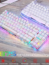 cheap -Motospeed K87S Gaming Mechanical Keyboard USB Wired 87 keys with RGB Backlight Red/Blue Switch for PC Computer Gamer