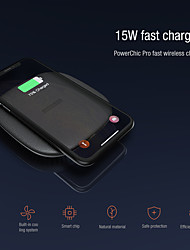 cheap -Nillkin 15W Fast Wireless Charger for IPhone 12 11 Xs Xs Max XR Wireless Charging Pad for Samsung Galaxy S21 S20 S10 + S10e Oneplus Xiaomi Quick Chaging Wireless Pad