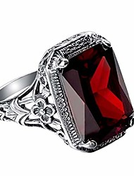 cheap -shiysrl exquisite jewelry ring love rings vintage red rhinestone wedding engagement bridal finger ring jewelry gift wedding band best gifts for love with valentine's day - red us 10