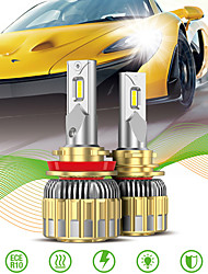 cheap -2pcs Car LED Headlamps Car Canbus Light H13 9007(HB5) H7 Light Bulbs 11000 lm Integrated LED 120 W 6000 k 2 For Volkswagen Toyota Nissan M3 Golf RAV4 2018 2008 2009