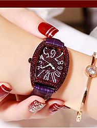 cheap -Women's Quartz Watches Analog Quartz Stylish Glitter Fashion Diamond Creative / PU Leather