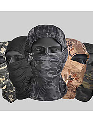 cheap -Men's Cycling Face Mask Cover Balaclava Cap Hunting Hat Outdoor UV Sun Protection Windproof Quick Dry Breathable Hunting Ski / Snowboard Fishing Desert Python CP camouflage ACU camouflage