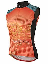 cheap -matrix women's sleeveless cycling jersey xs - women's orange
