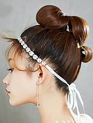 cheap -Wedding Bridal Alloy Headbands / Headdress / Headpiece with Crystal / Rhinestone / Crystals / Metal 1 Piece Wedding / Party / Evening Headpiece