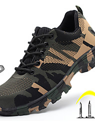 cheap -Men's Trainers Athletic Shoes Casual Daily Office & Career Safety Shoes Tissage Volant Breathable Non-slipping Wear Proof Rainbow Summer