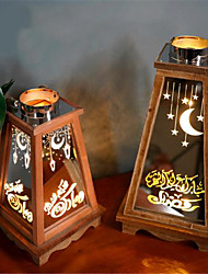 cheap -Ramadan Decorative Light Lantern Lamp Night Light Holiday Home Decoration AAA Batteries Operated