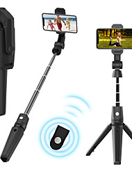 cheap -K21 Bluetooth Selfie Stick Tripod for iPhone Samsung Oneplus Wireless Remote Bluetooth Extendable Max Length to 93cm Selfie Stick For Android Smart Devices Smartphones