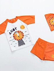cheap -new products children's swimwear boys korean children baby baby cute split swimsuit set boys swimwear